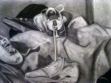 how to make charcoal drawing darker